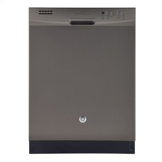 """GE 24"""" Built-In Stainless Steel Tall Tub Dishwasher Slate GBF630SMLES"""