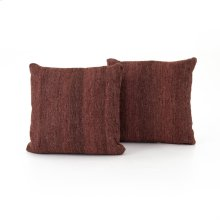 "20x20"" Size Currant Kilim Pillow, Set of 2"