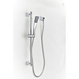 Polished Chrome Hudson (Series 14) Slide Bar with Hand Shower