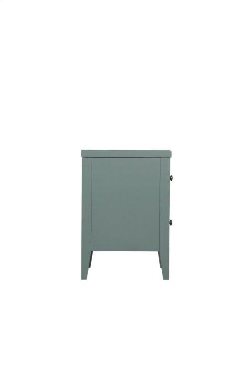 Emerald Home Home Decor 2 Drawer Nightstand-seaform Green B371-04grn