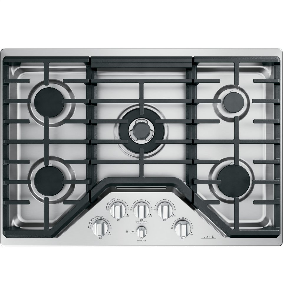 "Caf(eback) 30"" Built-In Gas Cooktop