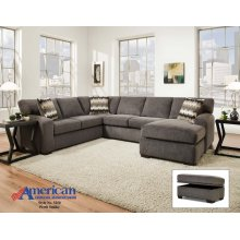 5250 - Perth Smoke 2-Piece Sectional