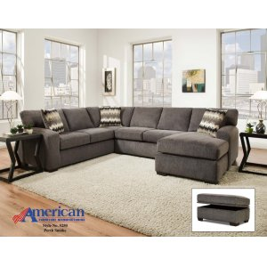American Furniture Manufacturing5250 - Perth Smoke Sectional