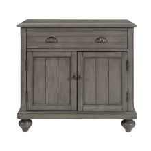 Farmhouse Hall Chest - Grey