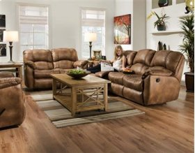 Double Reclining Sofa (Made in The USA)