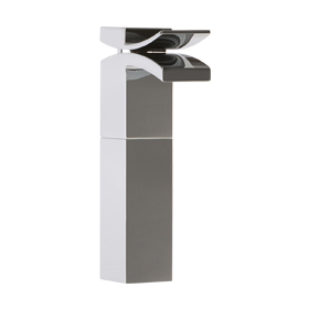 Vessel Lav Faucet High - Chrome