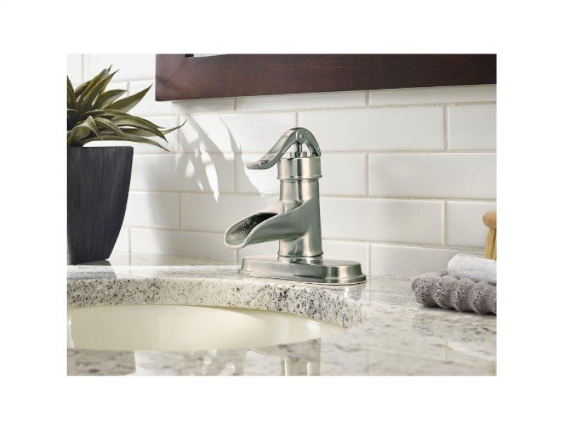 Brushed Nickel Pendleton Single Control Centerset Bath Faucet