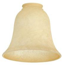 """2 1/4"""" Fan Glass, Bell Shaped"""