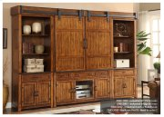 Industrial Collection Entertainment Wall with Barn Doors Product Image