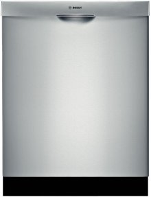 """24"""" Recessed Handle Dishwasher 500 Series- Stainless steel"""