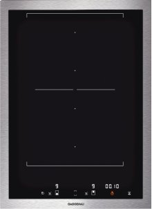 "Vario 400 Series Flex Induction Cooktop Stainless Steel Frame Width 15"""