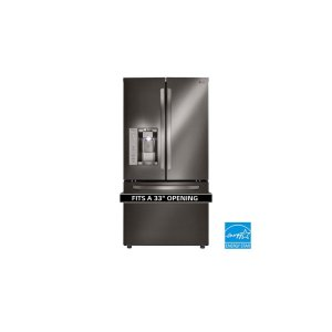 24.2 cu. ft. French Door Refrigerator - BLACK STAINLESS STEEL