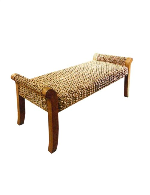 Bench, Seagrass Finish Only.