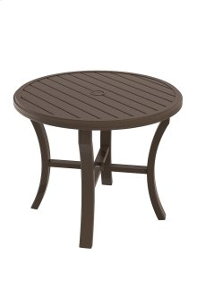 "Banchetto 36"" Round Dining Umbrella Table"
