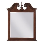 Hadleigh Vertical Pediment Mirror Product Image