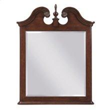 Hadleigh Vertical Pediment Mirror