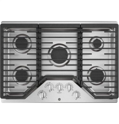 "GE® 30"" Built-In Gas Cooktop"