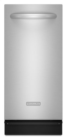 Stainless Steel KitchenAid® 1.4 Cu. Ft. Built-In Trash Compactor, Architect® Series II