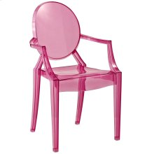 Casper Kids Chair in Pink
