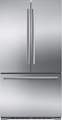 "GREAT DEAL - BIG SAVINGS FOR SLIGHTLY USED - SMALL DENT IN FREEZER DOOR -BOSCH 800 Series 36"" Freestanding Counter-Depth French Door Refrigerator, B21CT80SNS, Stainless Steel - MODEL B21CT80SNS / 6 MONTH WARRANTY"