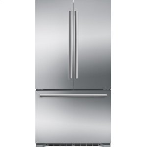 Bosch800 Series French Door Bottom Mount Refrigerator Easy clean stainless steel