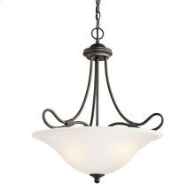 Stafford Collection Inverted Pendant 3Lt OZ