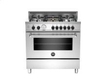 Stainless 36 5-Burner LPG, Gas Oven