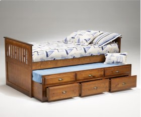 Logan Twin Captain's Bed - Cherry
