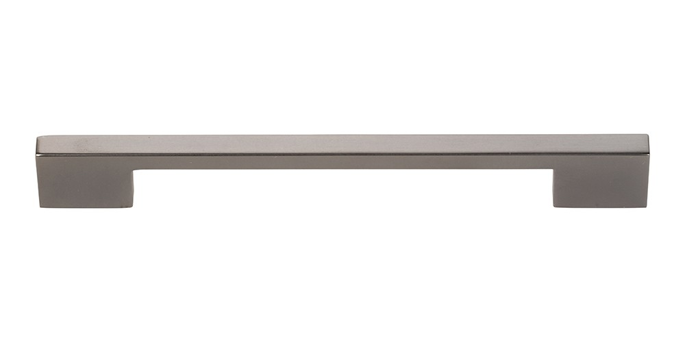 Thin Square Pull 7 9/16 Inch (c-c) - Slate