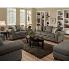 3750 Romance Graphite Loveseat Only
