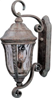 Whittier Cast 3-Light Outdoor Wall Lantern