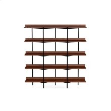 Shelving System 5305 Sh Fr in Toasted Walnut