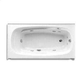 "Easy-Clean High Gloss Acrylic Surface, Rectangular, Whirlpool Bathtub, Premiere Package, 32"" X 60"""