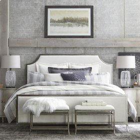 King Palisades Upholstered Panel Bed