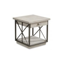 Arch Salvage Burton End Table