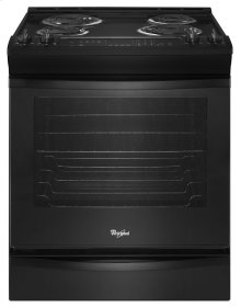 6.2 cu. ft. Front-Control Electric Range with AccuBake® System