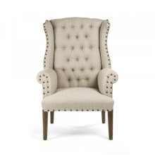 #10 Tufted Wingback Chair