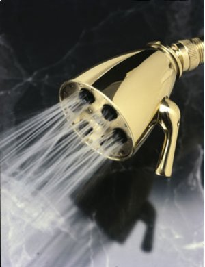 Satin-Nickel Single Function Shower Head Product Image