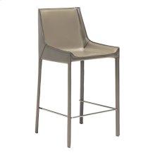 Fashion Counter Chair Stone Gray