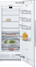 """Benchmark® Benchmark®, 30"""" Built-in Single Door Refrigerator with Home Connect, , Custom Panel"""