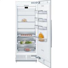 "Benchmark® Benchmark®, 30"" Built-in Single Door Refrigerator with Home Connect, B30IR900SP, Custom Panel"