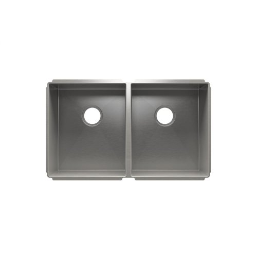 "J7® 003949 - undermount stainless steel Kitchen sink , 15"" × 18"" × 10""  15"" × 18"" × 10"""