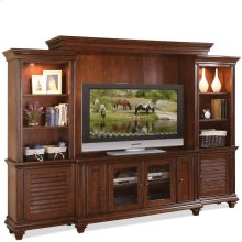 Windward Bay Entertainment Wall Unit