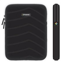 Polaroid Plush Neoprene iPad 2 and iPad 3 Protective Sleeve, Black - PAC160BK