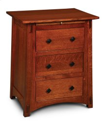 McCoy Deluxe Nightstand with Drawers
