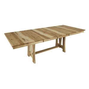A AmericaTrestle Dining Table