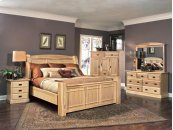 Queen Arch Panel Bed