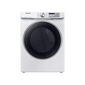 Samsung7.5 cu. ft. Smart Gas Dryer with Steam Sanitize+ in White