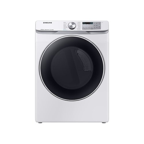 DV6300 7.5 cu. ft. Smart Gas Dryer with Steam Sanitize+ in White