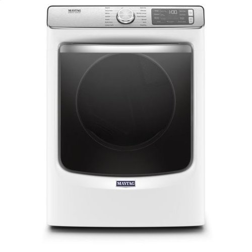 Maytag® Smart Front Load Gas Dryer with Extra Power and Advanced Moisture Sensing with industry-exclusive extra moisture sensor - 7.3 cu. ft. - White